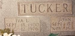 Iva Lee <i>Sayne</i> Tucker