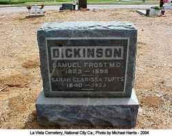 Sarah Clarissa <i>Tufts</i> Dickinson