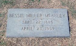 Bessie <i>Miller</i> McAuley