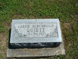 Carrie <i>Burchfield</i> Quiett