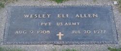 Wesley Eli Allen