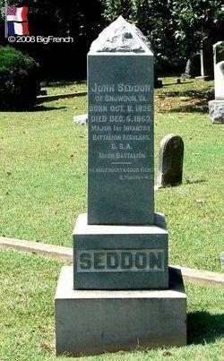 Maj John Seddon