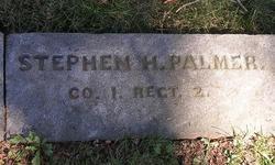 Pvt Stephen H. Palmer