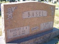 Herbert F K Basel