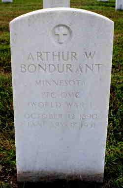 Arthur W Bondurant