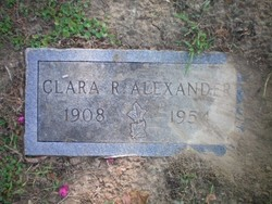 Clara Ruth <i>Browning</i> Alexander
