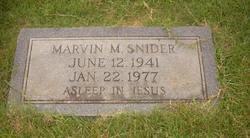 Marvin M. Snider