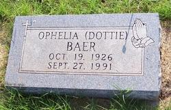 Hester Ophelia Dottie <i>Bryan</i> Baer