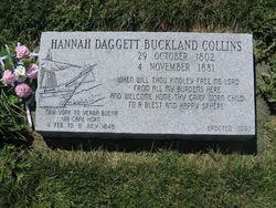 Hannah <i>Daggett</i> Buckland