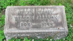 Helen Isabel <i>Wilson</i> Allison