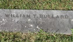 Pvt William T. Bullard