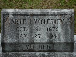 Arrie M <i>Hilderbrand</i> McCleskey