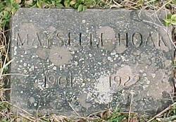 Mary Mayselle <i>Foster</i> Hoak