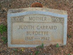 Judith <i>Garrard</i> Burdette