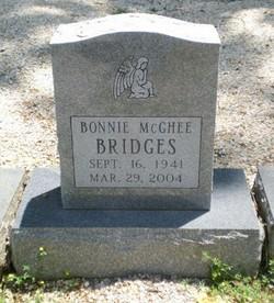 Bonnie <i>McGhee</i> Bridges