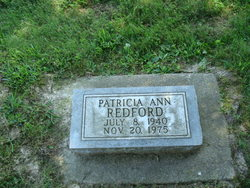 Patricia Ann <i>Poffinbarger</i> Redfern
