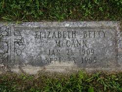 Elizabeth Betty McCann