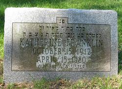 Katherine Franklin
