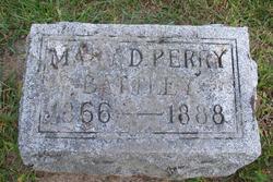 Mary D. <i>Perry</i> Battley