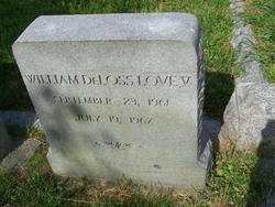 William DeLoss Love, V