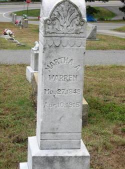 Martha Ann <i>Trull</i> Warren