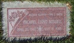 Michael Lloyd Boz Boswell