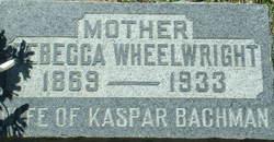Rebecca <i>Wheelwright</i> Bachman