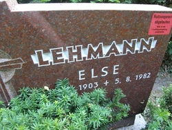 Else Lehmann