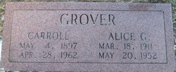 Carroll J Grover