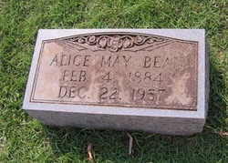 Alice May <i>Davis</i> Bean