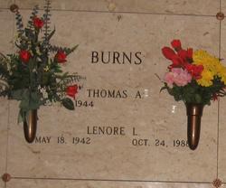 Lenore Lennie <i>Flynn</i> Burns