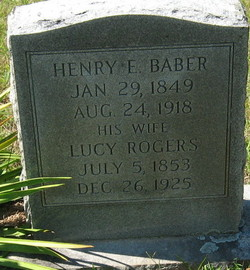 Lucy <i>Rogers</i> Baber