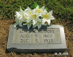 Alva Marion Alvie Bridges