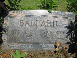 Fannie <i>Waddell</i> Ballard