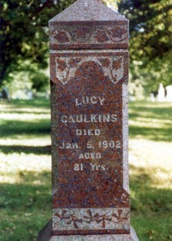 Lucy <i>Holcomb</i> Caulkins