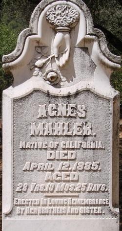 Agnes Mahler