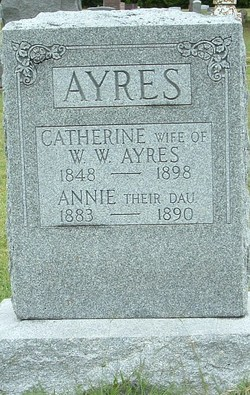 Catherine Maria <i>Baldwin</i> Ayres