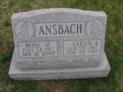 Rose M <i>Poncheri</i> Ansbach