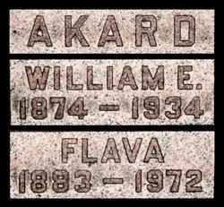 William Edward Akard