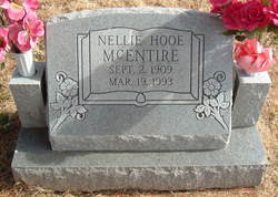 Nellie <i>Hooe</i> McEntire