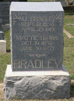 Martha Elizabeth Mattie <i>Glenn</i> Bradley