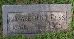 Elizabeth <i>Hood</i> Burgess