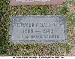 Edward P Baldwin