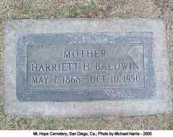 Harriett Baldwin