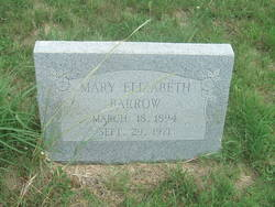 Mary Elizabeth <i>Highnote</i> Barrow