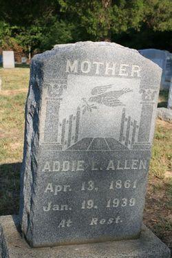 Adelaide L Addie <i>Cox</i> Allen