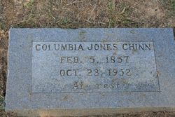 Columbia Jones Chinn