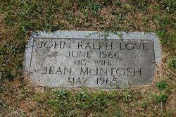 Jean <i>McIntosh</i> Love