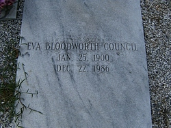Eva Bloodworth Council