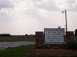 Fort Necessity Baptist Church Cemetery